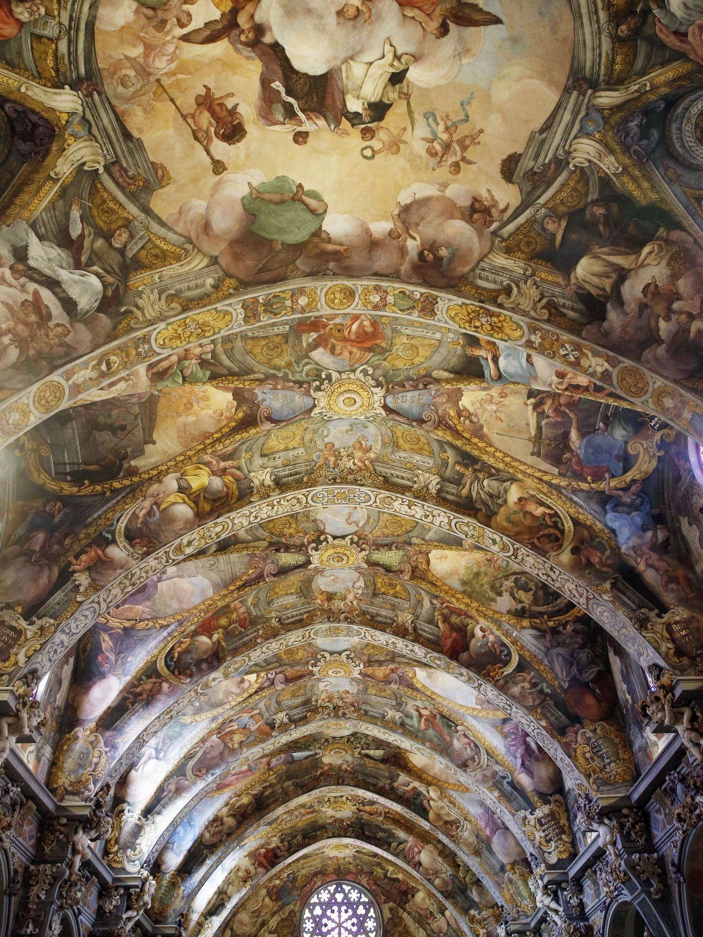 Presentación de la restauración de los frescos de la iglesia de san nicolás