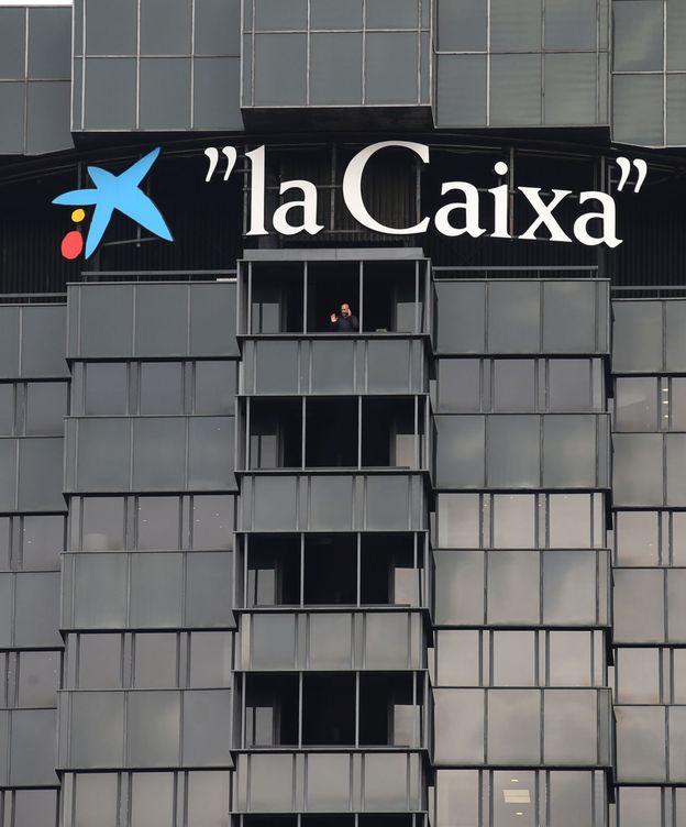 Foto: Una de las 'torres negras', sede de CaixaBank en Barcelona.