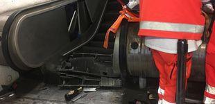 Post de Al menos veinte heridos en Roma tras caerse una escalera mecánica en el metro