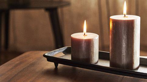 Consigue con las velas decorativas de Zara Home el ambiente cálido que buscabas
