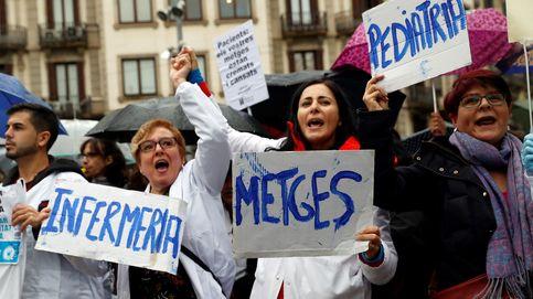 Los médicos de Cataluña mantienen el pulso con Torra y seguirán de huelga