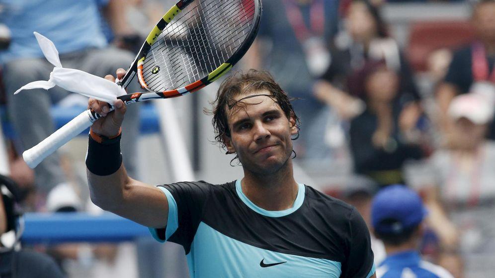 Foto: Rafael Nadal se mete en cuartos de final de Pekín tras eliminar a Pospisil (Efe).