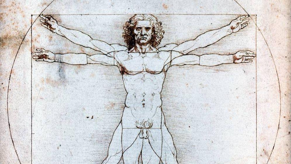 Foto: El hombre de Vitruvio, uno de los dibujos más conocidos de Leonardo. (CC/Wikimedia Commons)