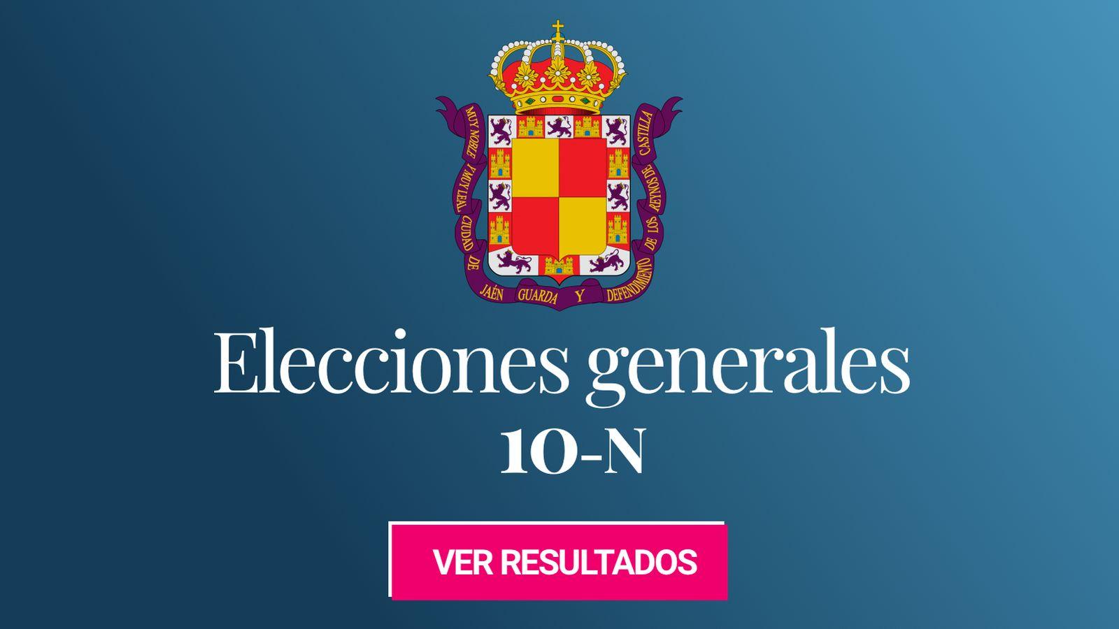 Foto: Elecciones generales 2019 en Jaén. (C.C./EC)