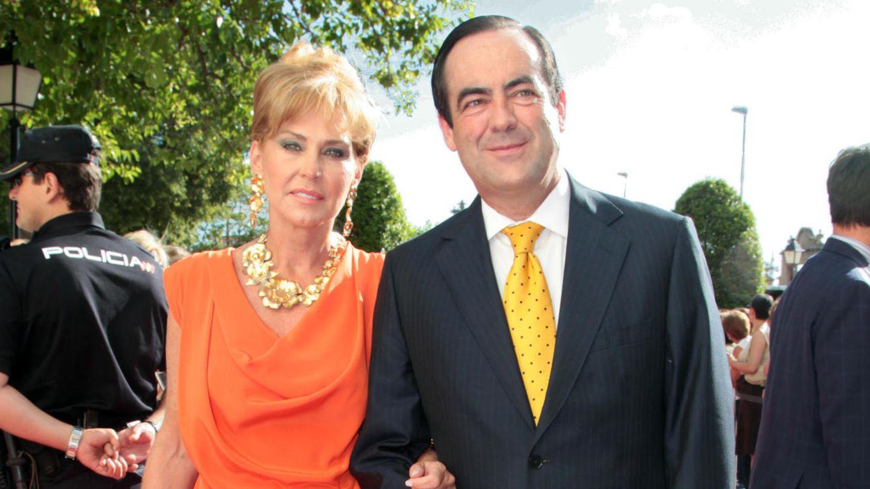 Ana Rodríguez junto a su exmarido, José Bono (Gtres)