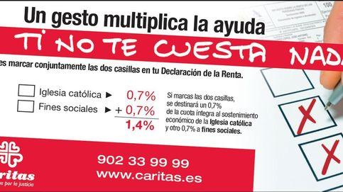 Cáritas invita a contribuyentes a marcar 'X' de Iglesia y Fines Sociales