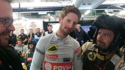 Grosjean: Solté el volante, apreté mis músculos, cerré los ojos y esperé