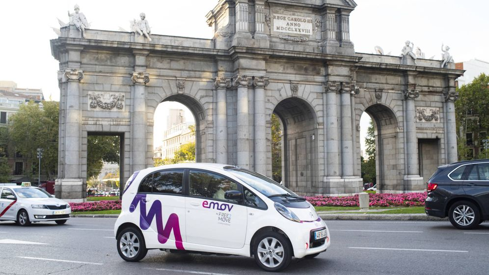 Foto: La flota de eMove en Madrid alcanza los 600 vehículos Citroën C-Zero y 10 Citroën Berlingo.