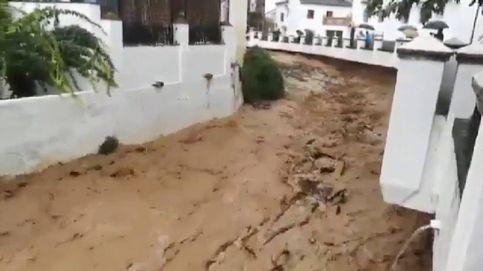 Ronda empieza a calcular los daños por las terribles lluvias que inundaron la localidad