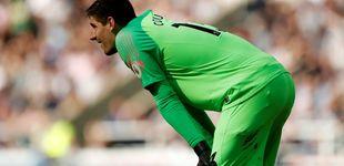 Post de Florentino Pérez se cansa del Chelsea y quiere gratis a Courtois