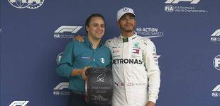 Post de Fórmula 1: Pole de Hamilton en Brasil con Alonso y Sainz eliminados en la Q1