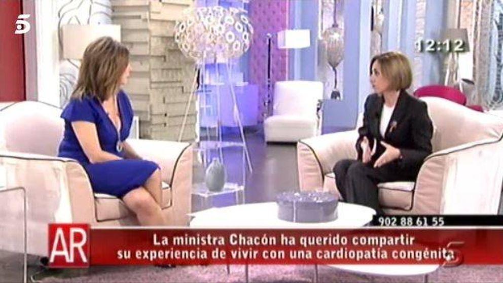 El día en el que Carme Chacón le contó su enfermedad a Ana Rosa