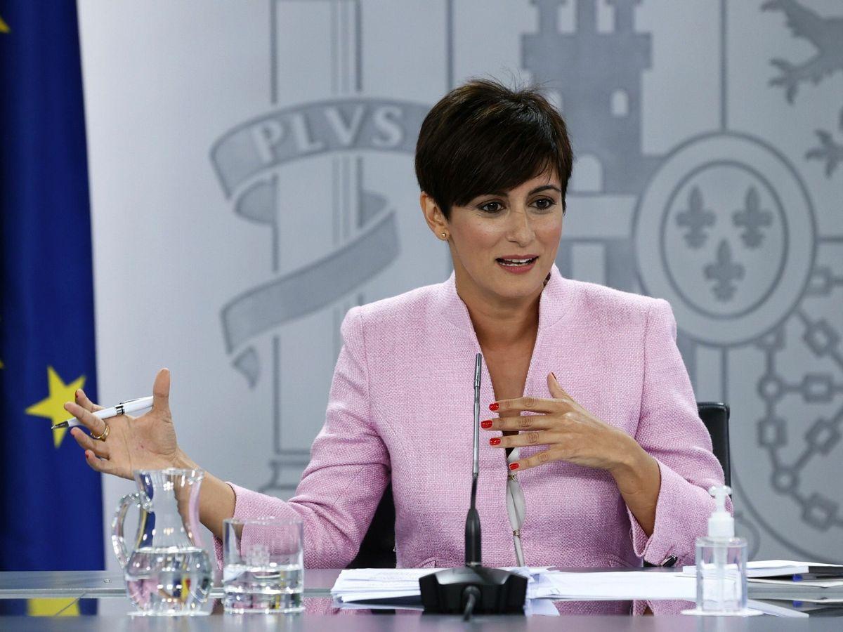 Foto: La nueva ministra de Política Territorial, Isabel Rodríguez. (EFE)
