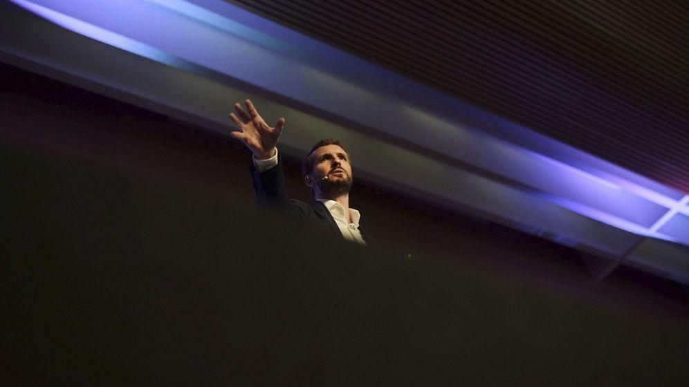 Foto: Pablo Casado en la Convención Económica del PP. (EFE)
