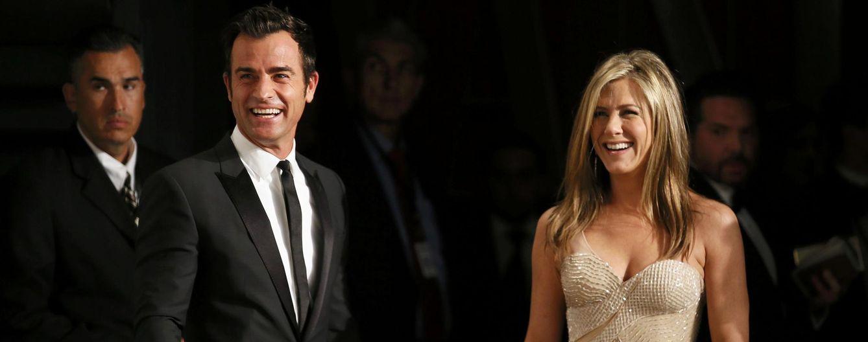 Foto: Jennifer Aniston y Justin Theroux en la pasada ceremonia de los Oscar (Reuters)