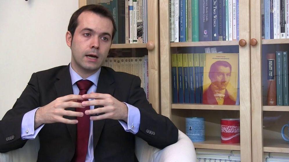 Foto: El economista Juan Ramón Rallo.