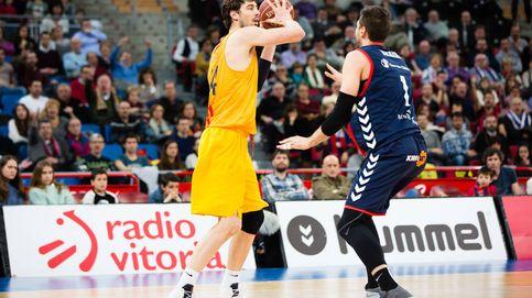 El Barcelona reacciona dos días después de tocar fondo y gana al Baskonia