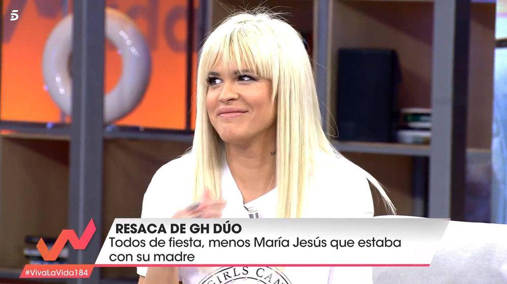 Foto: Ylenia Padilla, en 'Viva la vida'. (Telecinco)