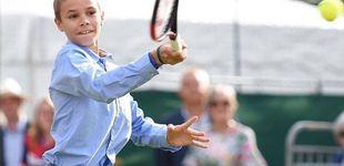 Post de Romeo Beckham, alumno de Rafa Nadal para convertirse en estrella del tenis