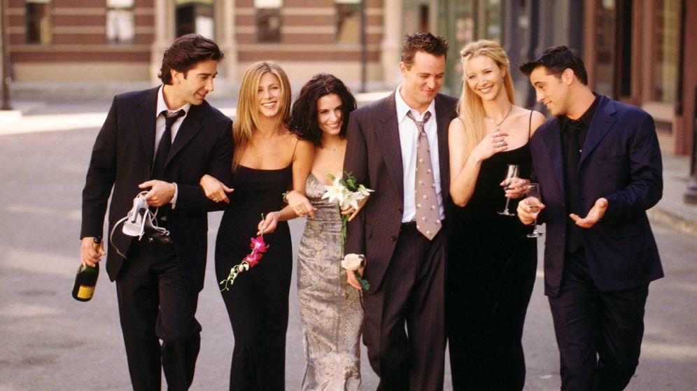 Foto: Los protagonistas de 'Friends'. (Cordon Press)