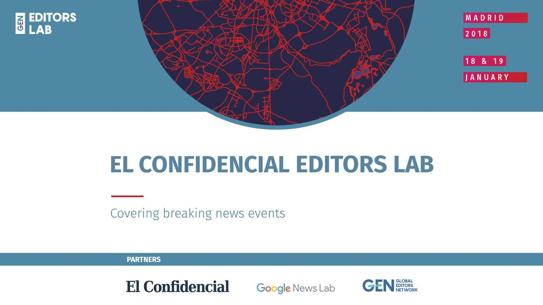 El Confidencial organiza por segunda vez la edición española del Editors Lab
