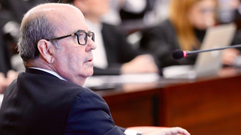 Gaspar Zarrías durante el juicio. (EFE)