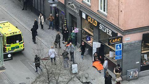 Atentado en Estocolmo: al menos tres muertos en un ataque con camión