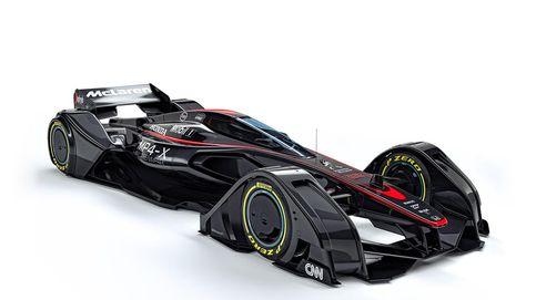 Red Bull bromea con el coche futurista de McLaren: Vais con cinco años de retraso