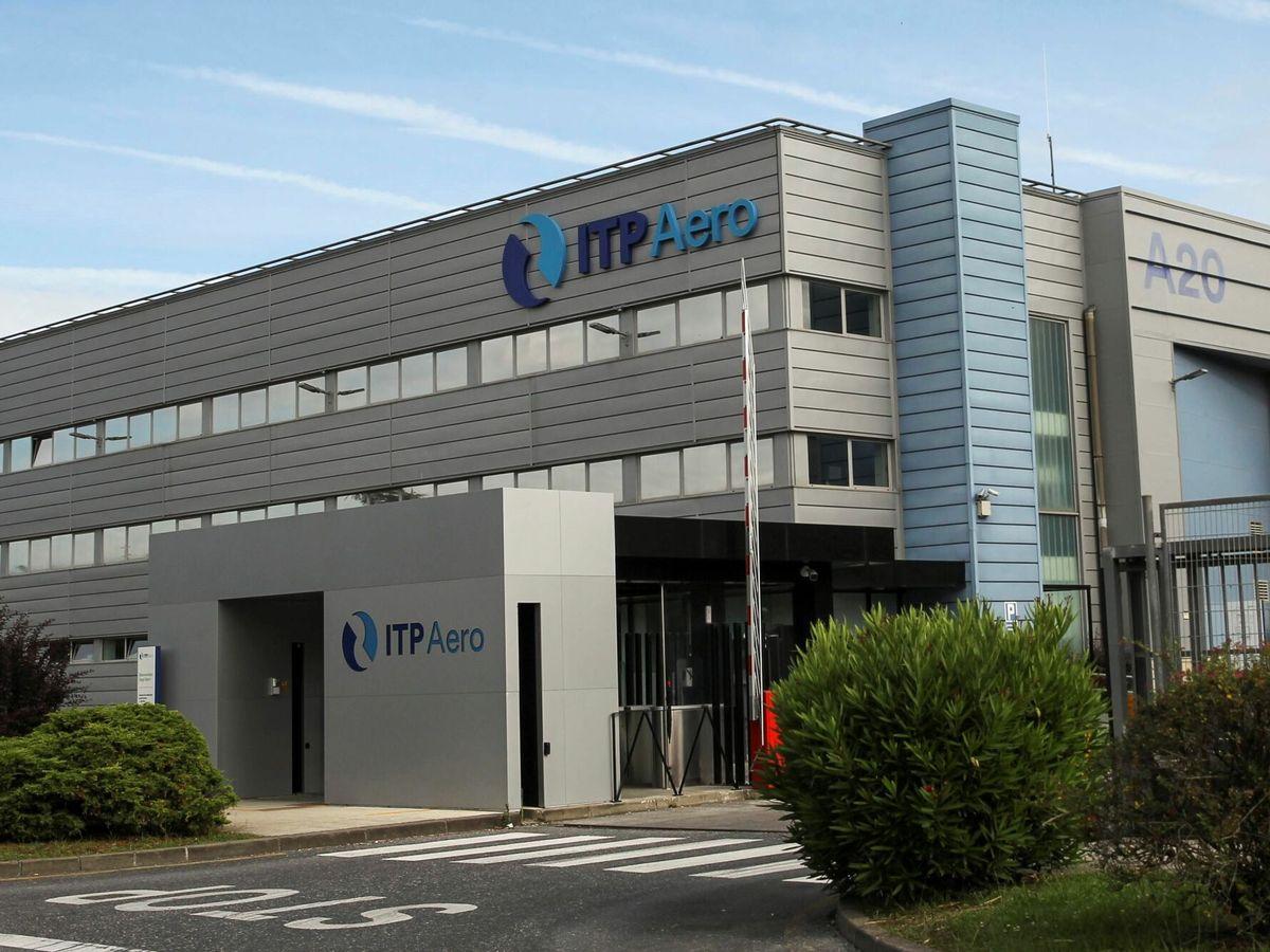 Foto: La sede de ITP en Zamudio (Bizkaia). (EFE)