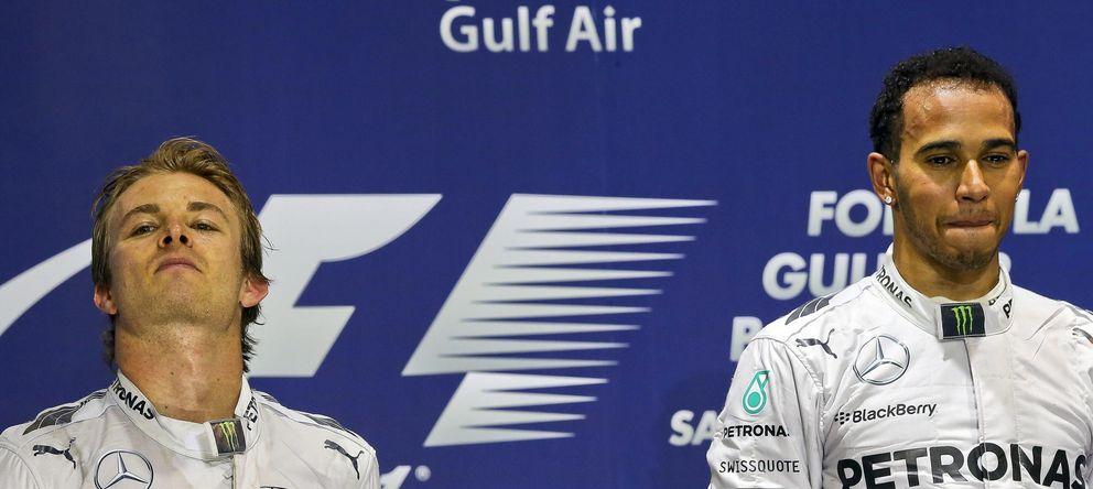 El juego del gato y el ratón entre Hamilton y Rosberg para lograr el título