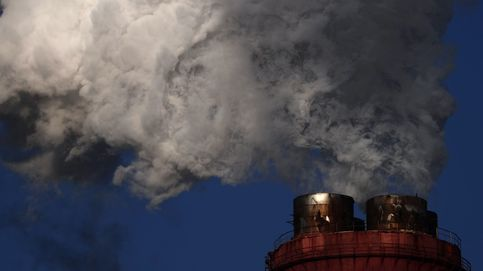 Las emisiones de CO₂ caen mucho menos de lo previsto