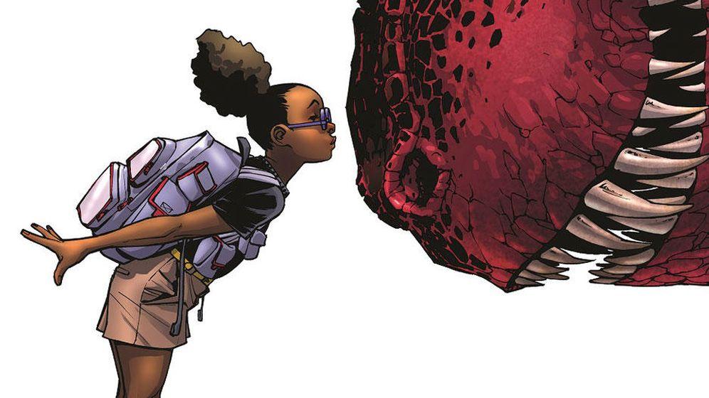 Foto: 'Moon Girl and Devil Dinosaur', cómic de Marvel en el que participa Natacha Bustos