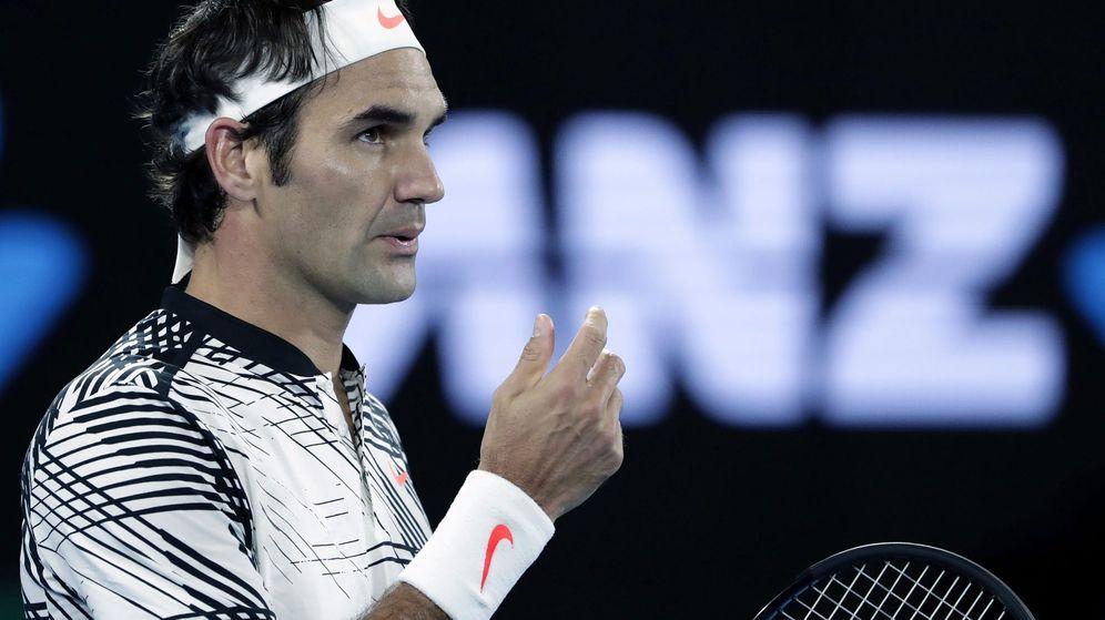 Foto: Roger Federer (EFE)