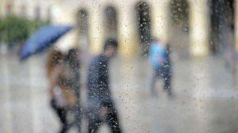 La llegada de un frente pone punto final a la primavera dejando lluvias en el norte