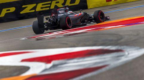 Fernando Alonso y el McLaren de Sochi que está donde no debería