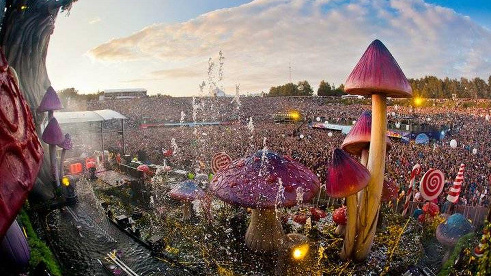 Foto: La música electrónica aglutina a más de 300.000 espectadores en el festival Tomorrowland, celebrado en Flandes. (Foto: Kevin Verkruijssen)