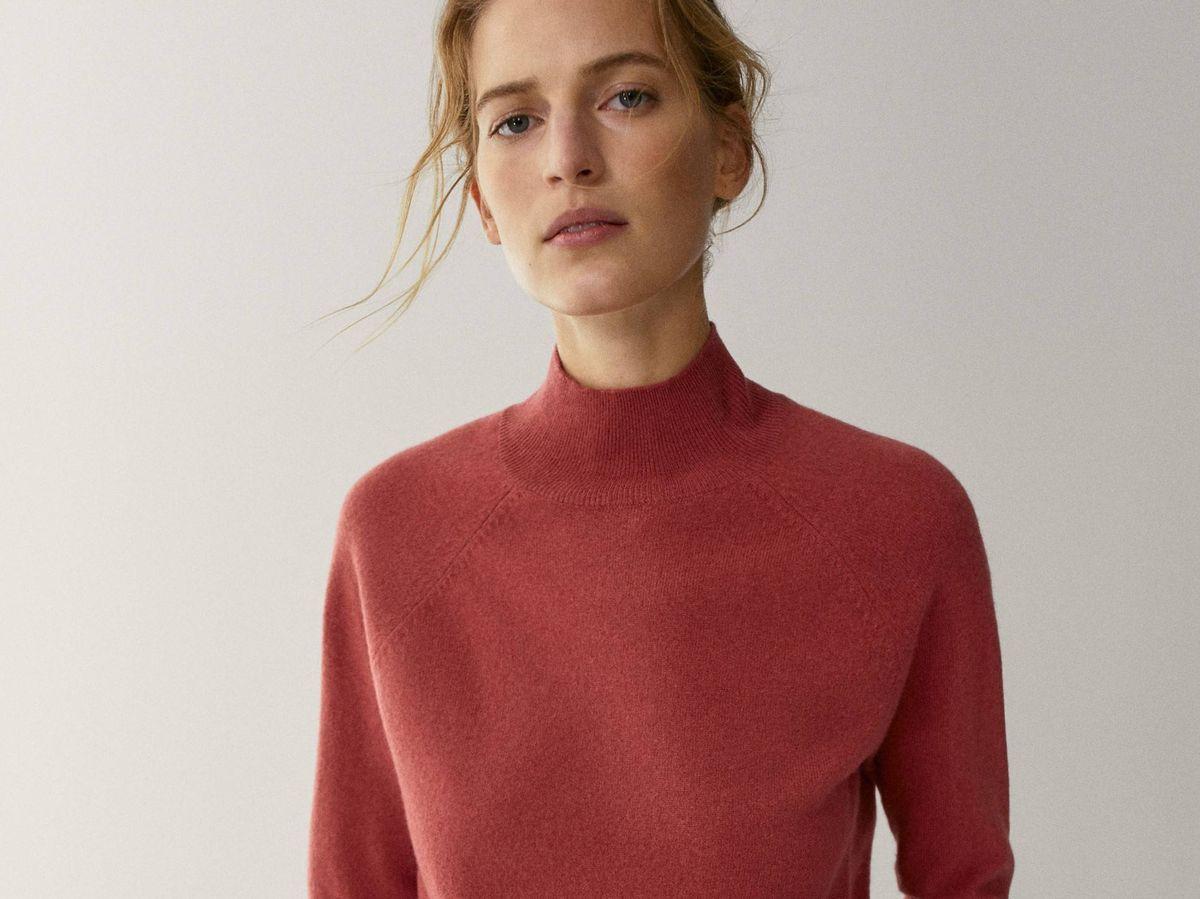 Foto: Massimo Dutti tiene unos jerséis de colores ideales. (Cortesía)