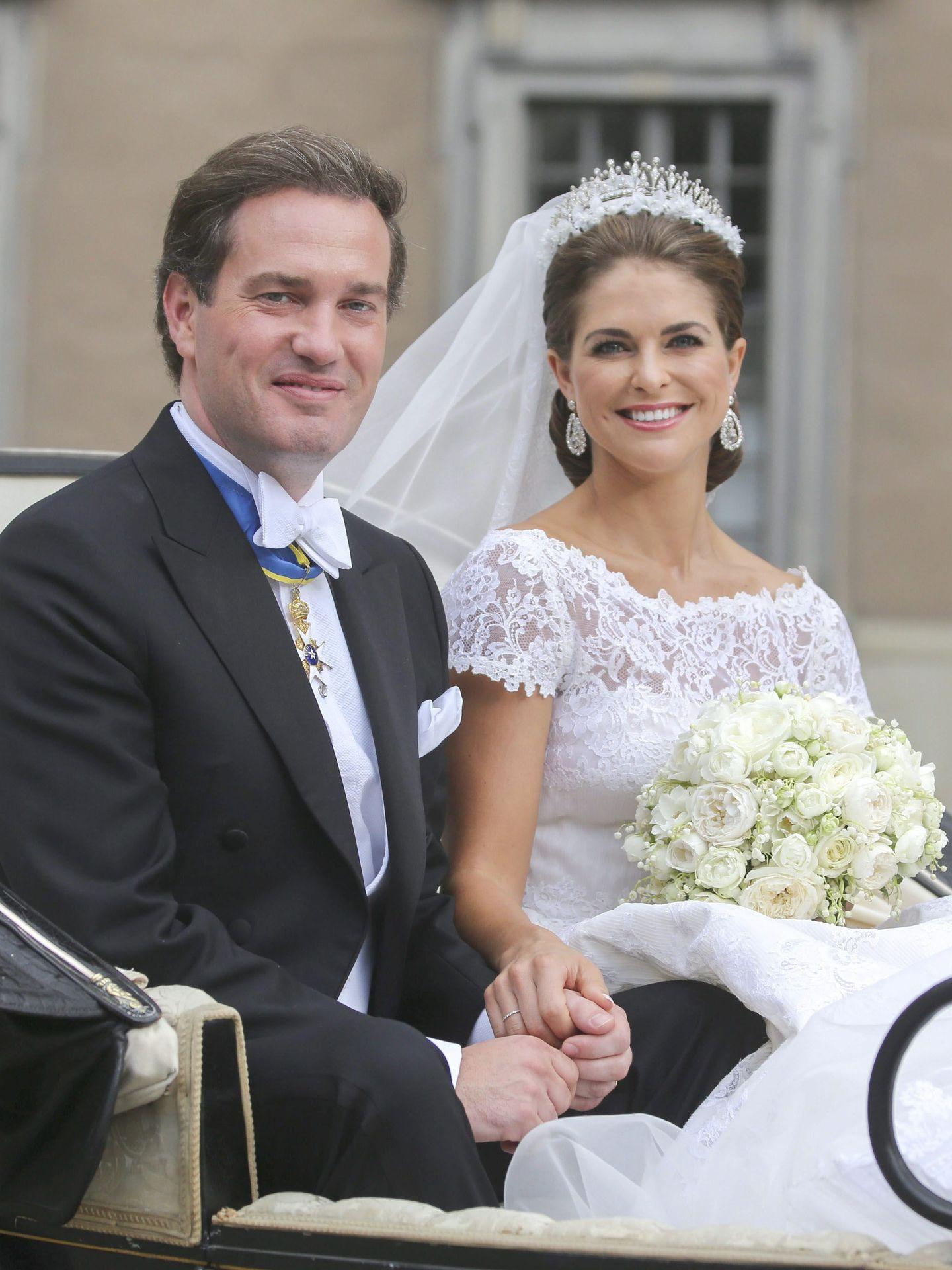 Boda de la princesa Magdalena y Chris O'Neill. (EFE)