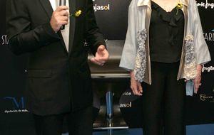 Antonio Banderas y la baronesa Thyssen inauguran temporada