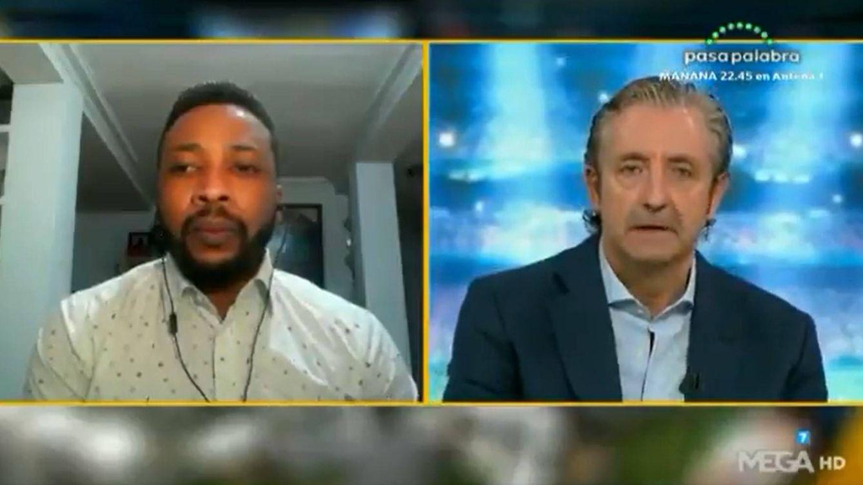 Edwin Congo rompe su silencio con Pedrerol ('El Chiringuito'): No tengo nada que ver con el tráfico de cocaína