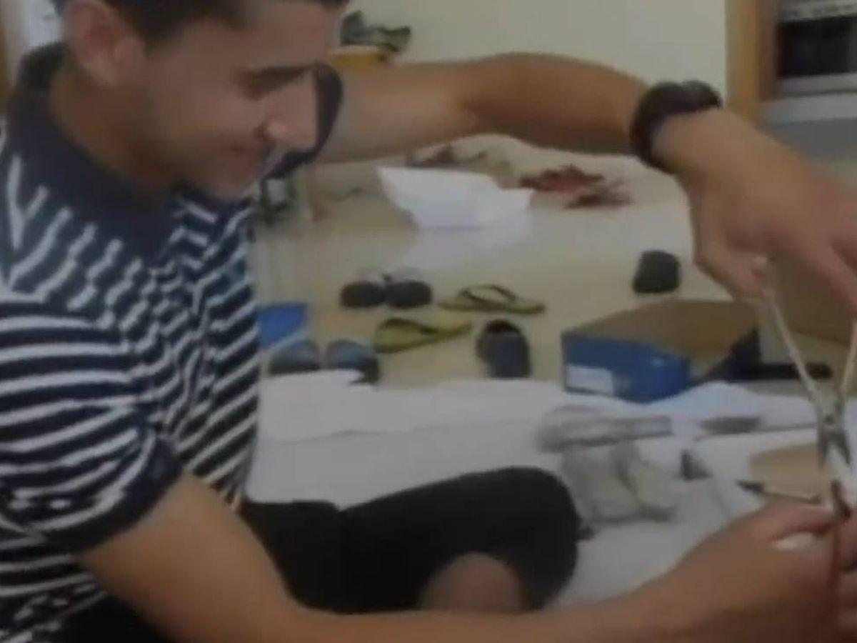 Foto: Un fotograma del vídeo inédito revelado hoy por Fiscalía.