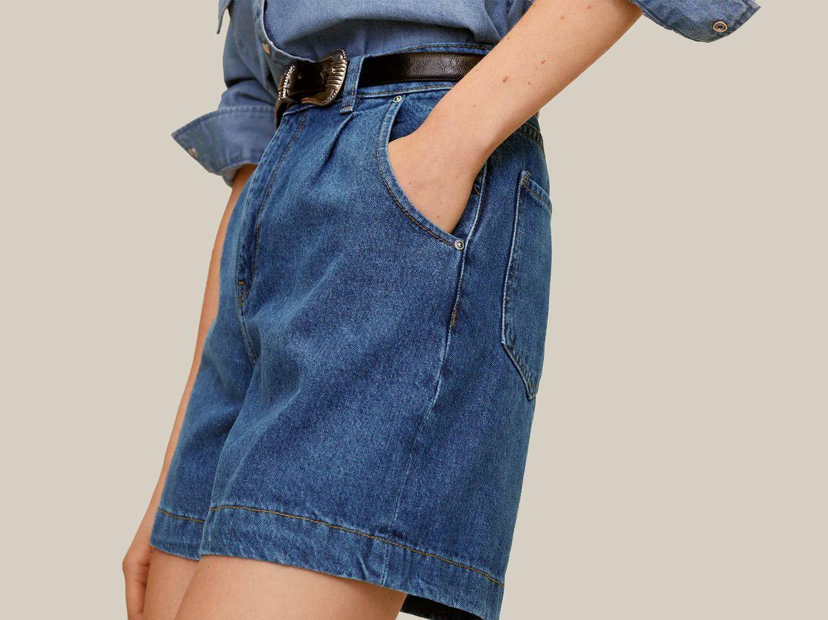 Foto: Pantalones cortos de Mango Outlet. (Cortesía)