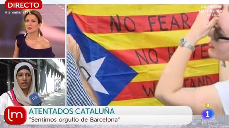 Silvia Jato entrevista, con polémica, a una musulmana en TVE.