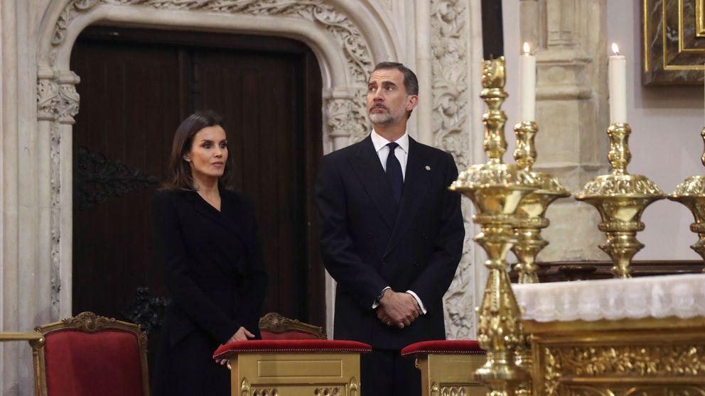 Felipe, Letizia y otros royals muestran sus condolencias por el incendio de Notre Dame