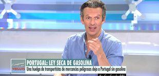 Post de Joaquín Prat sufre un ataque de risa en directo por el desliz de una reportera