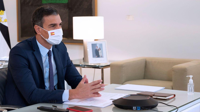 Pedro Sánchez, durante la conferencia de presidentes autonómicos. (EFE)