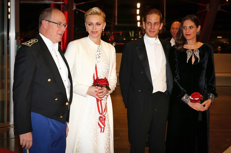 Foto: Cena de gala para los Grimaldi en el Día de Mónaco