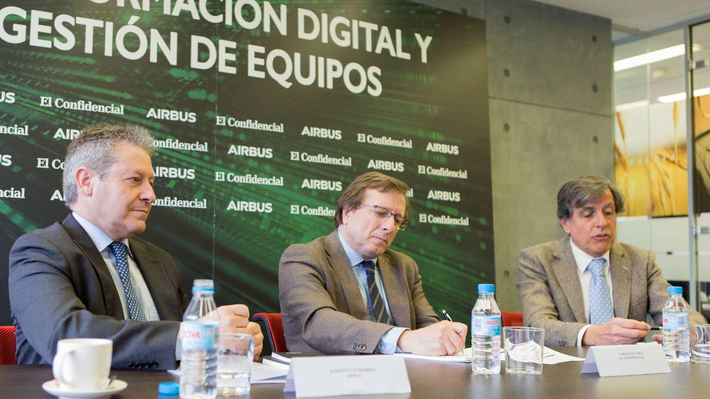 Alberto Gutiérrez, Carlos Sánchez y Pascual Dediós-Pleite. (EC)