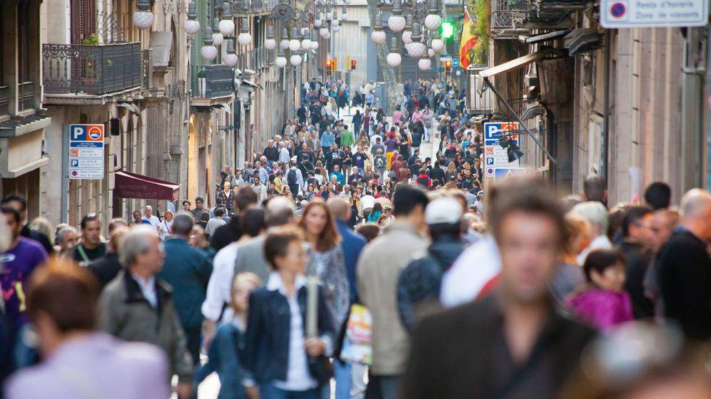Foto: Imagen de la calle Ferran en Barcelona.