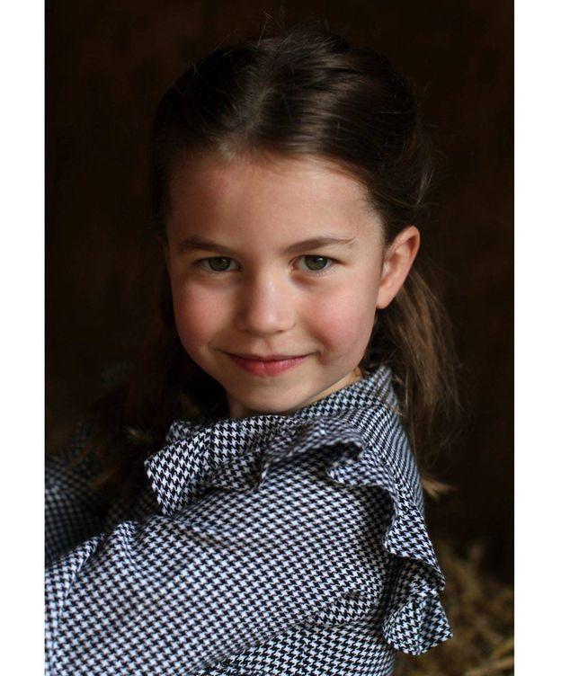 Foto:  La princesa Charlotte. (Kensington Palace)